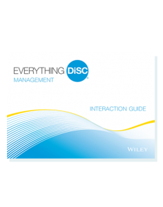 Everything DiSC Management Interaction Guide, Sheila K Consulting